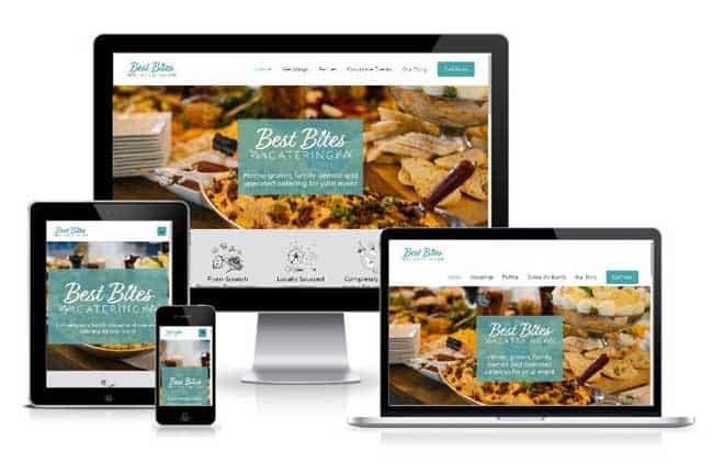 Best Bites Responsive Website